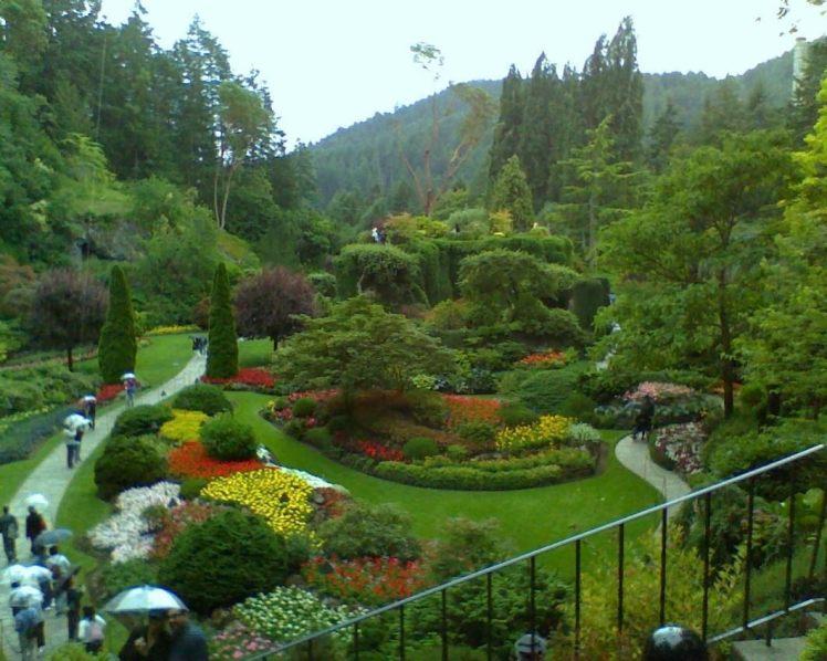 Butcharart Gardens, Victoria, Canada by FJMaya