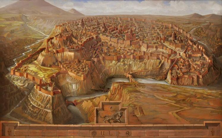 Ani capitol of Armenia