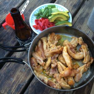 Dinner 2: Chicken fajitas