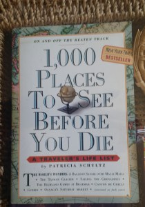 only 999 more places to go!  A great guide if you have the time and $$$