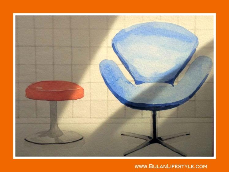 Saarinen and Swan chairs