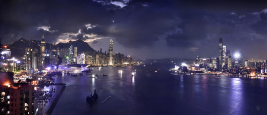 hong_kong_victoria_harbor_by_nujabes-d53onor