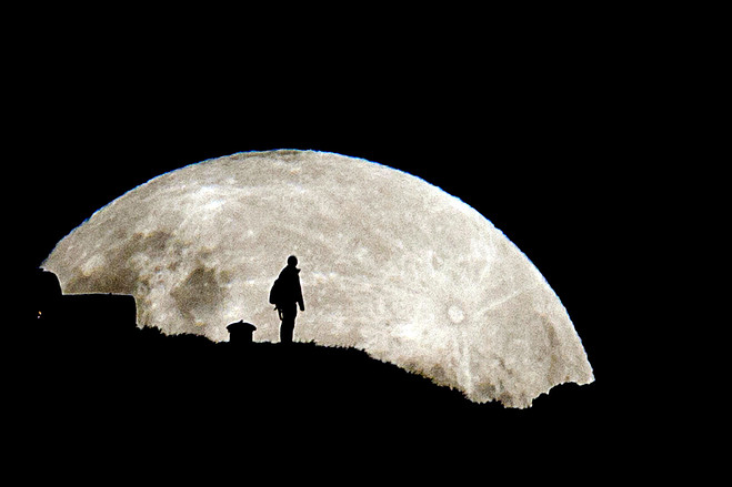 As the Moon Leaps for Joy