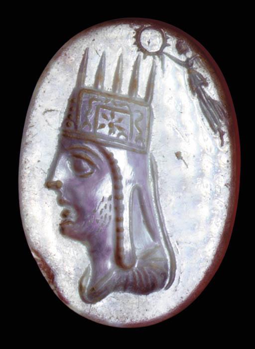 Ringstone portrait of Tigranes II of Armenia